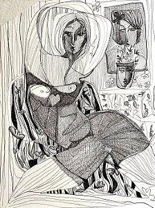 Mulher e Vaso