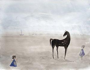 Cavalo e Crianças