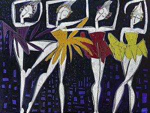 Bailarinas em Fundo Marinho