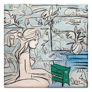 Menina e o Piano