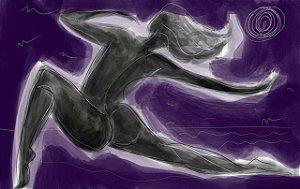 Ela é da Lua II - Púrpura