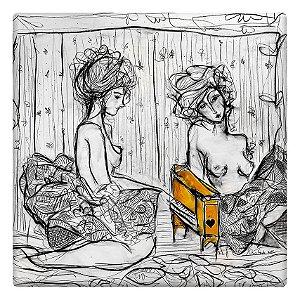 Moças e o pianinho