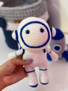 Amigurumi Astronauta