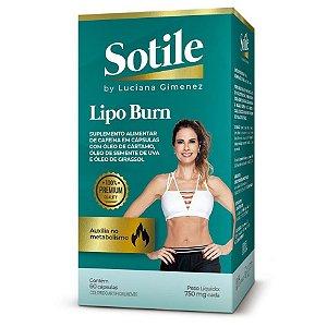 Sotile Lipo Burn By Luciana Gimenez 60 Cápsulas