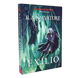 Livro A Lenda de Drizzt Exílio – Volume 2 – Dungeons & Dragons
