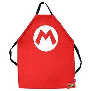 Avental de Cozinha Criativo Super Mario