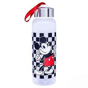 Garrafa com Alça Mickey Xadrez – Disney