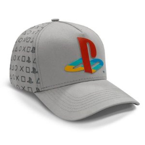 Boné Playstation Play Classic – Cinza