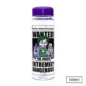 Garrafa Squeeze WB Joker Wanted – Dc Comics