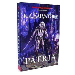 Livro A Lenda de Drizzt Pátria – Volume 1 – Dungeons & Dragons – R. A. Salvatore