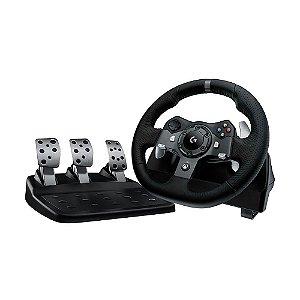 Volante Logitech Driving Force G920 - Xbox One e PC