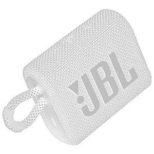 Caixa de Som JBL GO3, Bluetooth, À Prova d'Agua e Poeira, 4,2W RMS - JBLGO3BLK