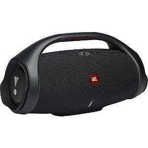 Caixa de Som Portátil JBL Boombox 2, 80W RMS, Bluetooth 5.1, À Prova D'Agua - BOOMBOX2BLKBR