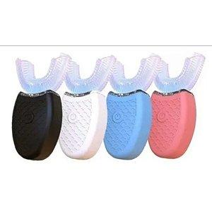 Escova Dente Elétrica 360° Bucal Automático Limpeza Oral V White