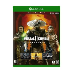 Jogo Mortal Kombat 11 (Aftermath Collection) - Xbox One