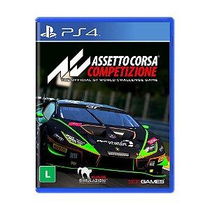 Jogo Asseto Corsa Competizione - PS4