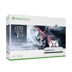 Console Xbox One S 1TB (Pacote Star Wars Jedi: Fallen Order) - Microsoft
