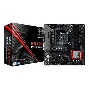 PLACA MAE ASROCK FATAL1TY B360M PERFORMANCE DDR4 SOCKET LGA1151 CHIPSET INTEL B360