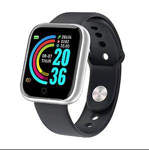 Smartwatch Y68 com Bluetooth e a prova d'água IP67