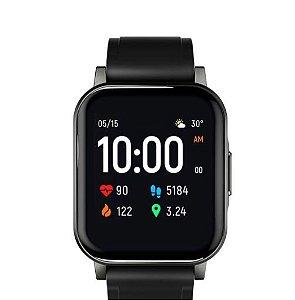 Versão global Haylou LS02 Relógio Inteligente 2 Tela lcd de 1.4 polegadas Bluetooth 5.0 12 Modos Esportivos IP68 à Prova D 'Água por 20 Dias em Espera Relógio de Pulso Pulseira de