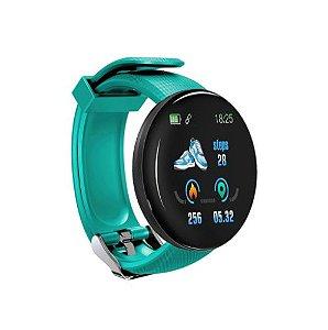 D18 Relógio Inteligente 1.3 polegada Tela tft IP65 à Prova D 'Água Pulseira Esporte Pulseira Freqência Cardíaca Monitor de Sono Pressão Arterial Homens Mulheres Rastreador de