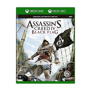 Jogo Assassin's Creed IV: Black Flag - Xbox 360 e Xbox One