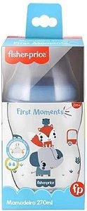 Mamadeira First Moments Azul Marshmallow 270Ml