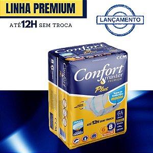Fralda Confort Master Premium G 8 Unid