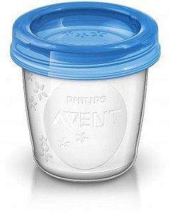 10 Copos de armazenamento de leite - Philips Avent SCF618/10