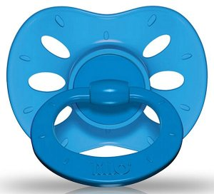 Chupeta Lillo Extra Air Azul - Tamnho 2 - +6 meses