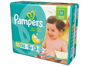Fralda Pampers Confort Sec - Tamanho XXG - 30 unidades