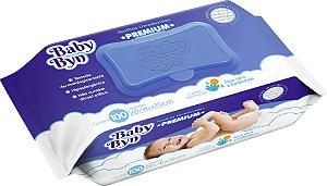 Toalha Umedecida Baby Byn Premium 100 unid