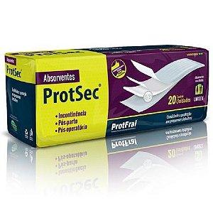 Absorvente Deriatrico ProtSec - pct. c/ 20 unidades