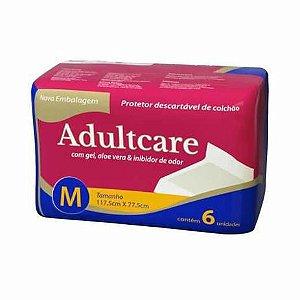 Protetor Descartável De Colchão Adultcare  M C/6 unidades