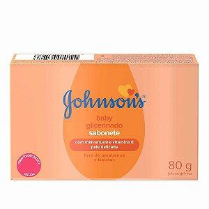 Sabonete Baby Glicerinado com Mel Natural e Vitamina JOHNSON'S