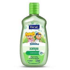 Shampoo Infantil Xuxinha Camomila 120ml - Baruel