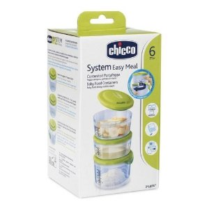 Recipiente De Comida Sysrtem Easy Meal 6+ Chicco