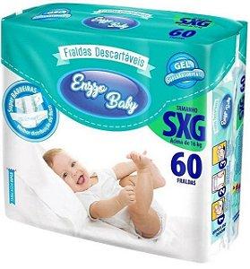Fralda Enzzo Baby Tam SXG 60 Unidades