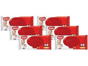 Lenços Umedecidos Huggies Supreme Care - 48 Unidades Kit 6 Pacotes