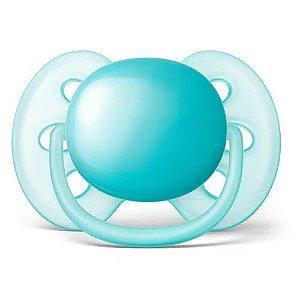 Chupeta Ultra Soft 6 a 18 meses Philips Avent - Azul