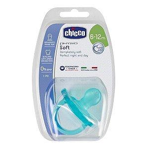 Chupeta de Silicone Physio Tam 2 Soft Verde 6-12M – Chicco
