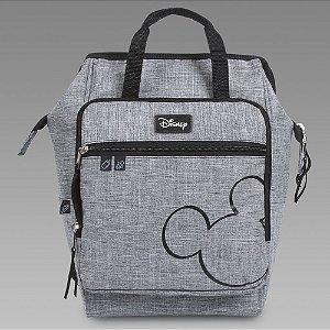 Mochila Maternidade Baby Bag Com Trocador Cinza - BabyGo