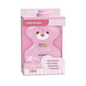 Condicionador Bebê Natureza Puro Cuidado Menina 220ml
