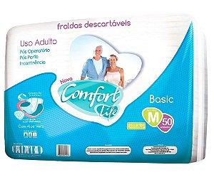 Fralda Geriátrica Pacotão Comfort Life c/ 150