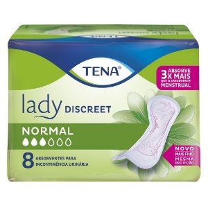 ABSORVENTE TENA LADY DISCREET NORMAL