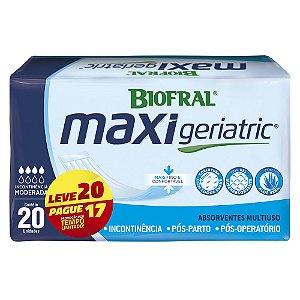 ABSORVENTE MAXI GERIATRIC C/20
