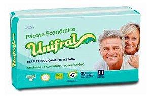 FRALDA GERIÁTRICA UNIFRAL GRANDE C/30