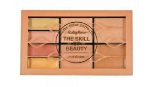 PALETA DE CORRETIVO  THE SKILL OF BEAUTY MEDIUM - RUBY ROSE