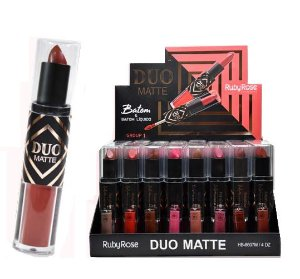 BATOM DUO MATTE RUBY ROSE