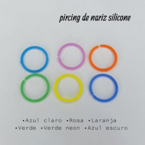 PIERCING DE NARIZ - SILICONE